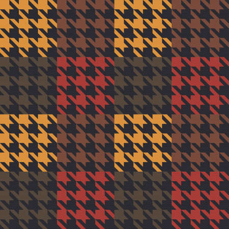 Houndstooth texture  Seamless pattern
