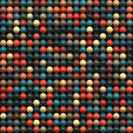Random colorful bubbles  Seamless pattern  Stock Photo