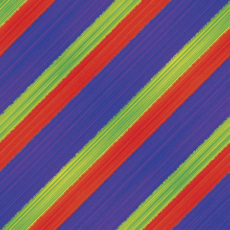Colored textured striped background  Seamless pattern Stock Vector - 20617407