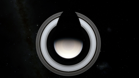 Saturn. Science fiction space wallpaper, incredibly beautiful planets, galaxies, dark and cold beauty of endless universe