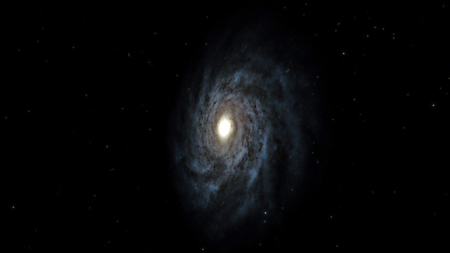 Galaxy, Milky Way galaxy, 50,000 light years across.
