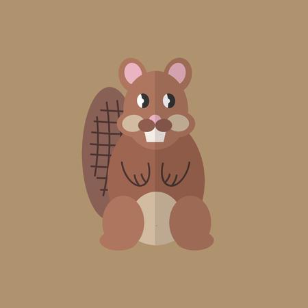 Flat design style animal avatar icon set. Vector illustration Фото со стока - 120648566