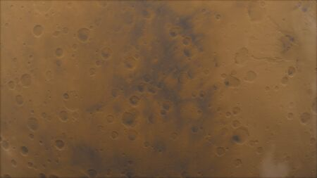 Mars high resolution 3d render image, 4k. Mars is a planet of the solar system. Stok Fotoğraf