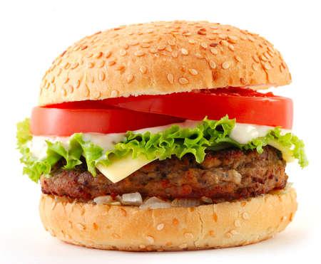 hamburger bun: cheeseburger