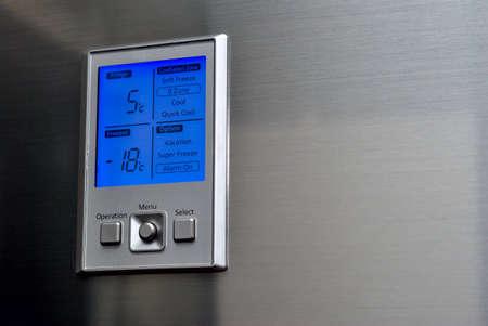 tablero de control: panel de control de nevera