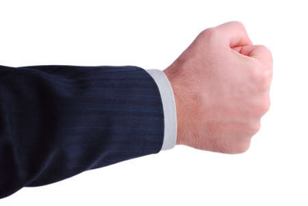 businessman hand ready to hold anything inside Stock Photo - 4139246