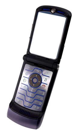 modern thin cell phone
