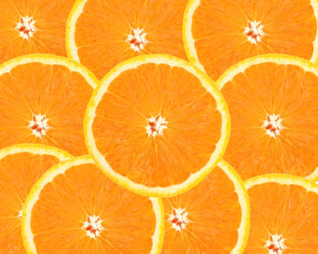 orange slices photo