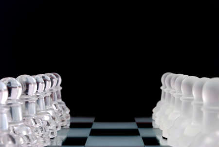 Pawns formations Stock Photo - 4334426