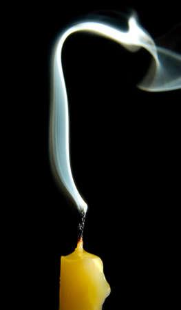 candle smoke Stock Photo - 4761024