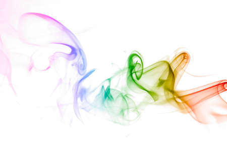color smoke photo
