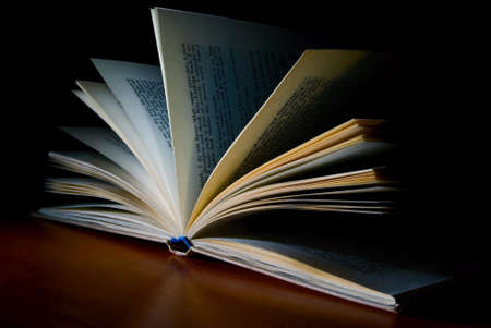 open book in dark Stock Photo - 4966750