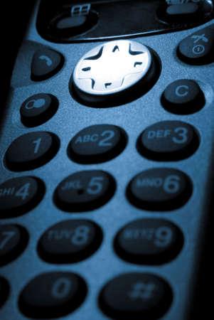 mobile phone in dark photo