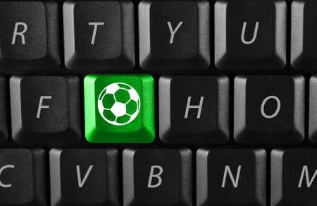 electronic football Stock Photo - 5121551