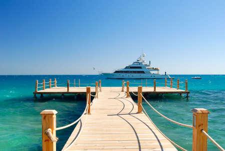 tropical pier photo