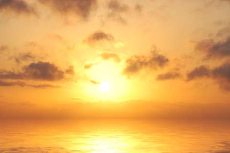 sunrise in sea Stock Photo - 6722946