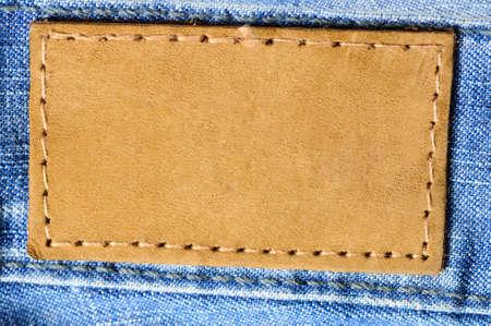 jeans label photo