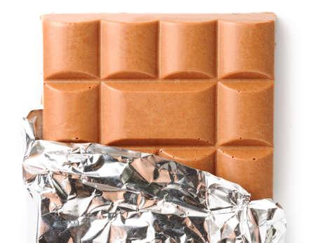 chocolate bar isolated on white Stock Photo - 6816745