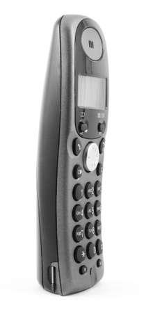 wireless phone isolated on white  photo