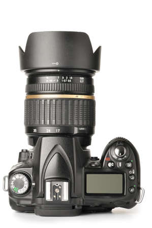 top view of a modern dslr camera Stock Photo - 8345809