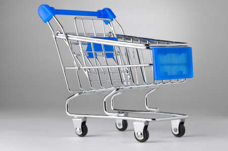 closeup of a shopping cart Stock Photo - 8705298