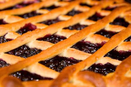 blueberry pie: Tarta de ar?ndanos frescos