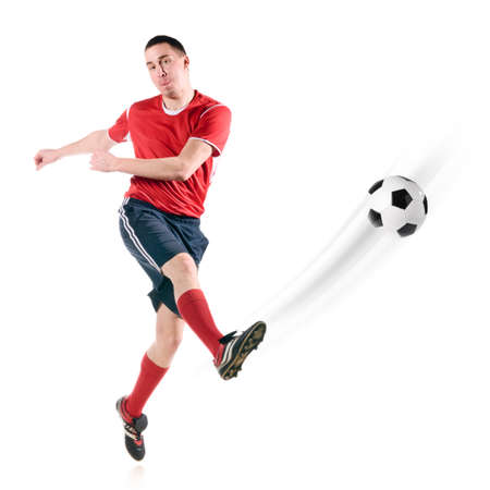 player hits the ball Stock Photo - 8942684