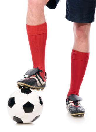 legs of soccer player photo