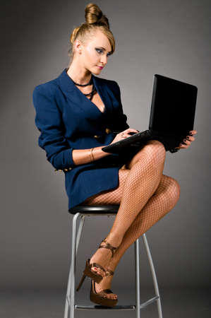 sexy business woman photo