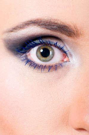 female eye macro Stock Photo - 9056778