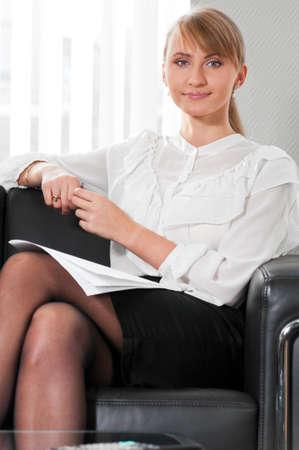 business woman portrait Stock Photo - 9094531