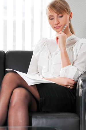 business woman portrait photo