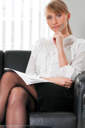 business woman portrait Stock Photo - 9094527