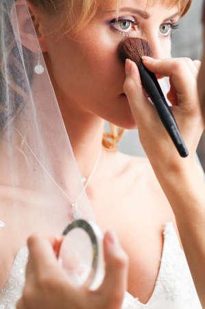 wedding make-up photo