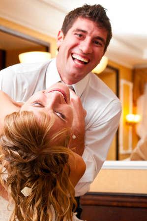 candid: wedding dance