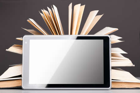 books and pad Stock Photo - 9141694