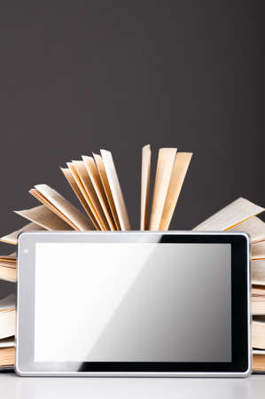 books and pad Stock Photo - 9141691