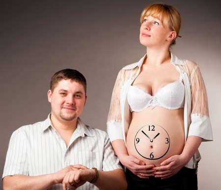 pregnant couple Stock Photo - 9520753