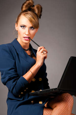 woman at office Stock Photo - 9551044