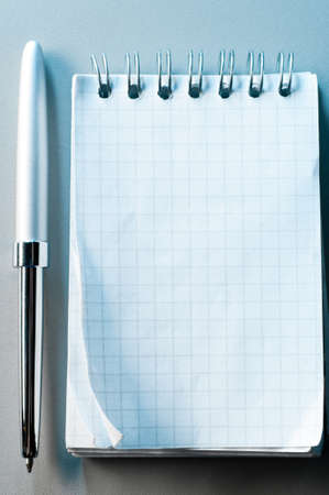 notes and pen Stock Photo - 9638645