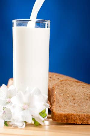 milk is flowing photo