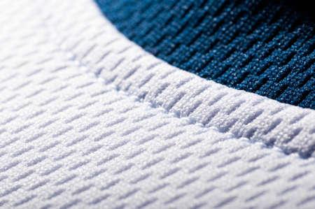 white fabric texture: modern sport clothing fabric