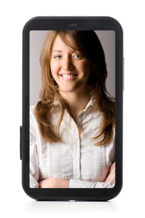 touch screen phone Stock Photo - 9999562