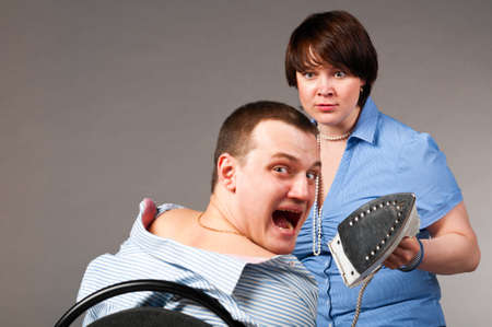 business torture Stock Photo - 10204322