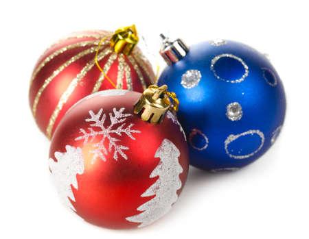 christmas decorative balls photo