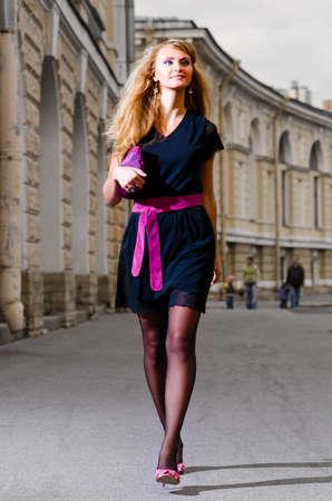 walking woman Stock Photo - 10630720