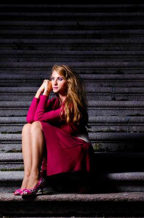 fashionable woman photo