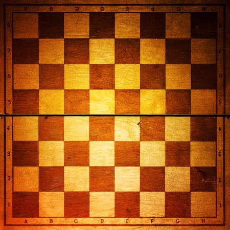 vintage chessboard photo