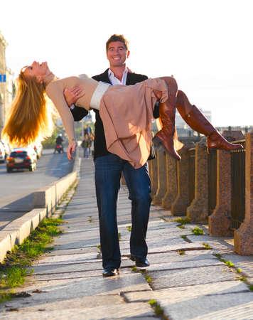 attractive couple