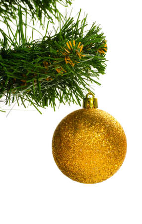 decorated christmas tree Stock Photo - 10891328